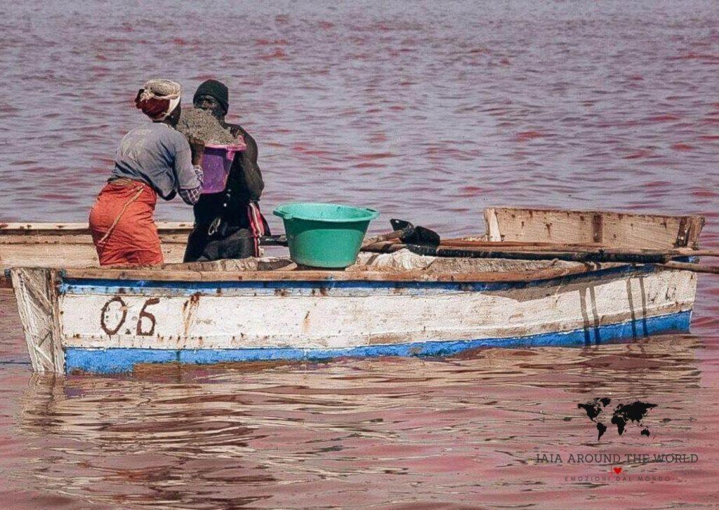 sengal lago rosa retba