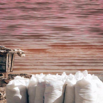 senegal lago rosa retba