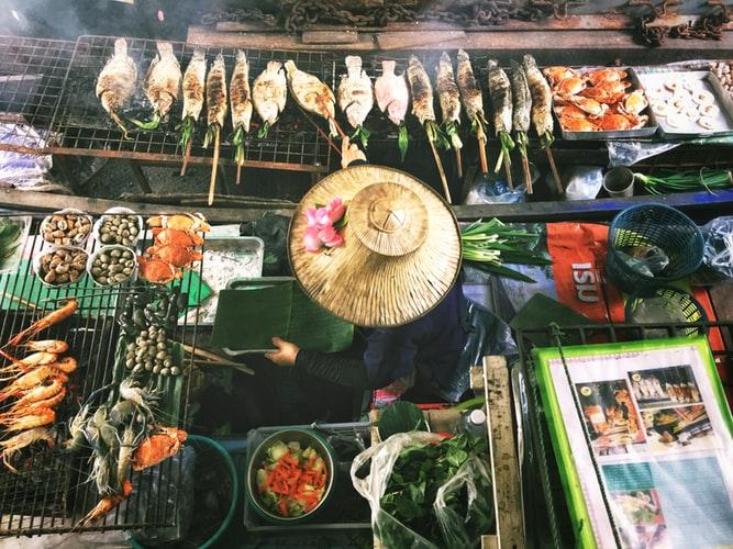 thailandia del nord food viaggio di gruppo