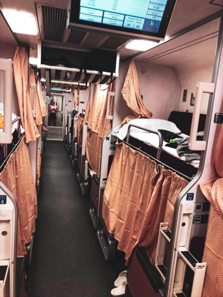 treno notturno thailandia seconda classe