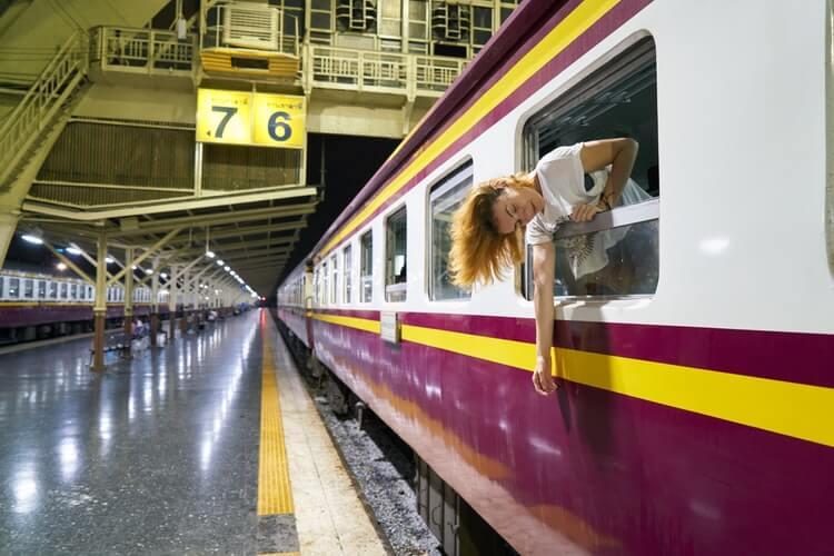treno notturno thailandia